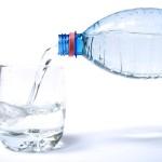 Water Glas en Fles
