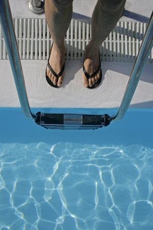afvallen zwemmen baantjes
