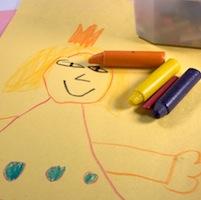 Tekening van een kind