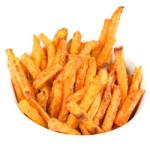 Gezonde patat van knolselderij