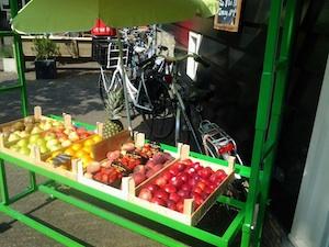 De Groene Smaak - foto stalletje