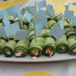 gezond hapje komkommer