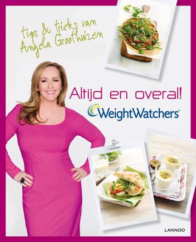 Boek Angela Groothuizen met tips and tricks van Weight Watchers