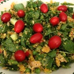 couscous-spinazie-salade