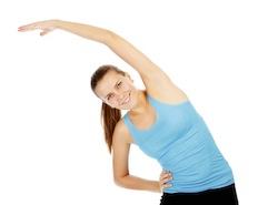 Stretch oefening voor slanke taille
