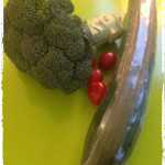 Ingrediënten broccoli salade