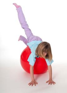 Balansoefeningen voor kinderen