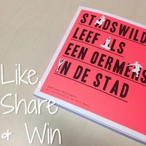 Like-share-win-actie Stadswild - leef als een oermens in de stad