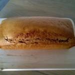 Ontbijtkoek van speltmeel (suikervrij)