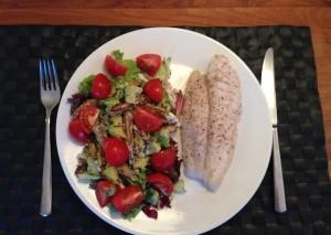 schorseneren-avocado-salade