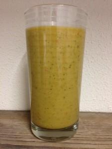 Groene Smoothie tomaat en avocado