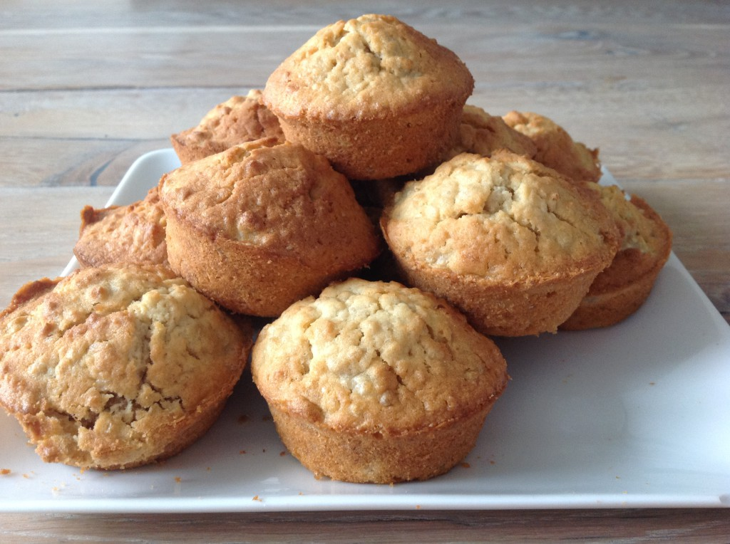 suikervrije havermout muffins - goed eten gezond leven