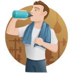 Gewichtsconsulent-samen-sporten