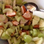 Lunchsalade met bleekselderij