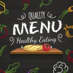 gezond menu voorbeeld