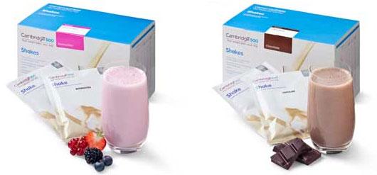 dieet met shakes en repen