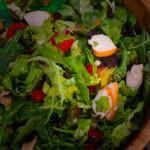 goed gevulde maaltijd salade