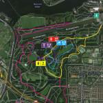 hardloop routes amsterdamse bos