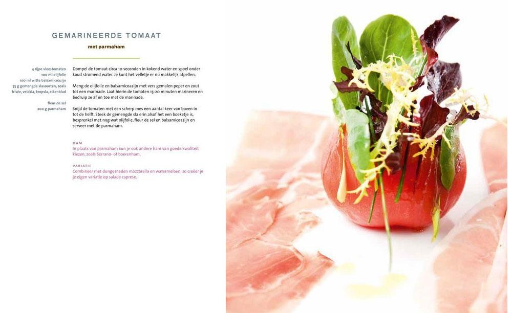 Kookboek, fotoboek Sacha de Boer
