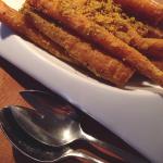Knapperige wortel uit de oven