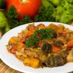 stoofpotje wortel aardappel courgette