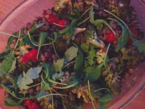 linzen-salade-bloemkool