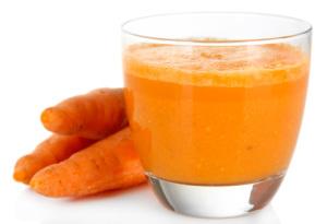 Groentesap met wortels