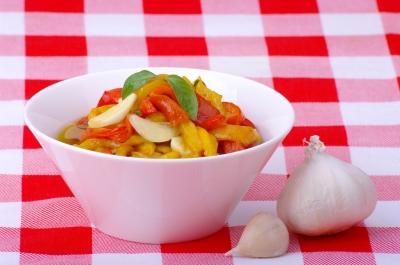 gegrilde-paprika-salade