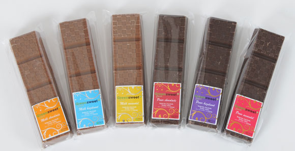 pure chocolade zonder suiker