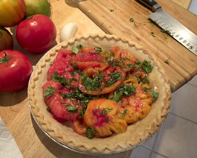 Recept tomatentaart, fotocredits Robert Couse-Baker