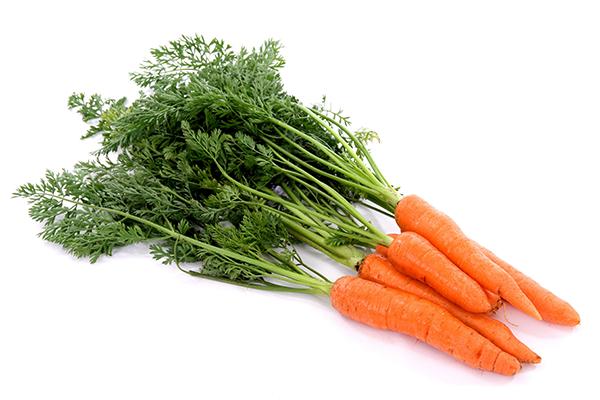 wortels gezond afvallen