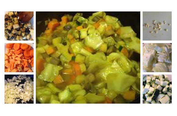 Afrikaanse groentestoof, makkelijk eten op zondag