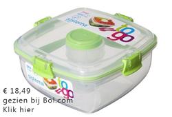 lunchbox met veel vakjes