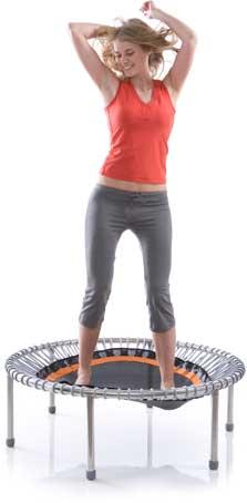 trampolinespringen is goed voor je gezondheid