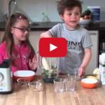 Groene smoothie: kinderen maken het zelf!