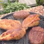 Barbecue op tafel