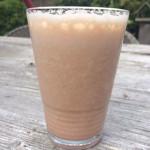 Gezonde milkshake banaan meloen