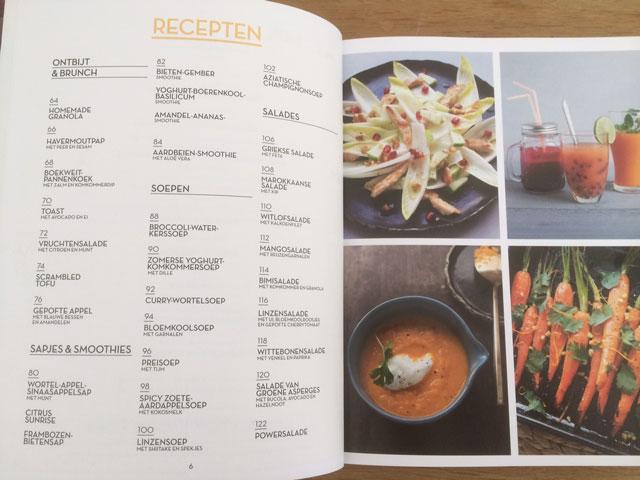 Recepten uit Mijnleefstijldieet, dieetboek van dit moment.