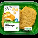 Vegetarische kaasburger