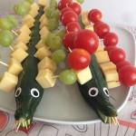 Gezonde snack voor kinderen tijdens een verjaardag