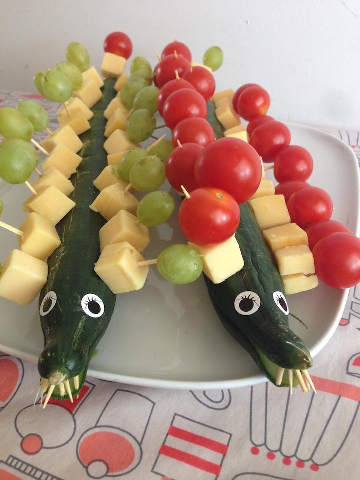 Voorkeur Gezonde snack voor kinderen tijdens een verjaardag - Goed Eten  JS29