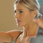 Staande workout met gewichten