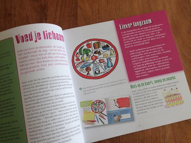 leren aan kinderen schijf-van-vijf-kinderen-gevarieerd-eten