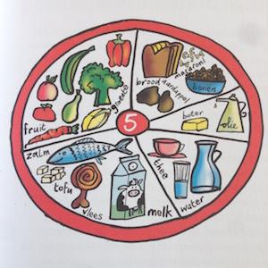 wat is gevarieerd eten