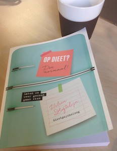 Boek: Op dieet? Doe normaal! Leer afvallen door lekker te eten.