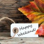 10 tips voor een gelukkig en gezond weekend!