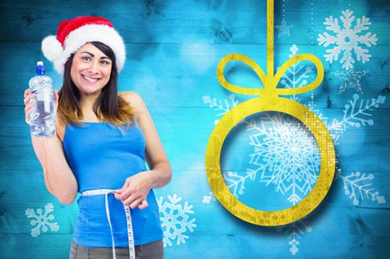afvallen-tijdens-kerst