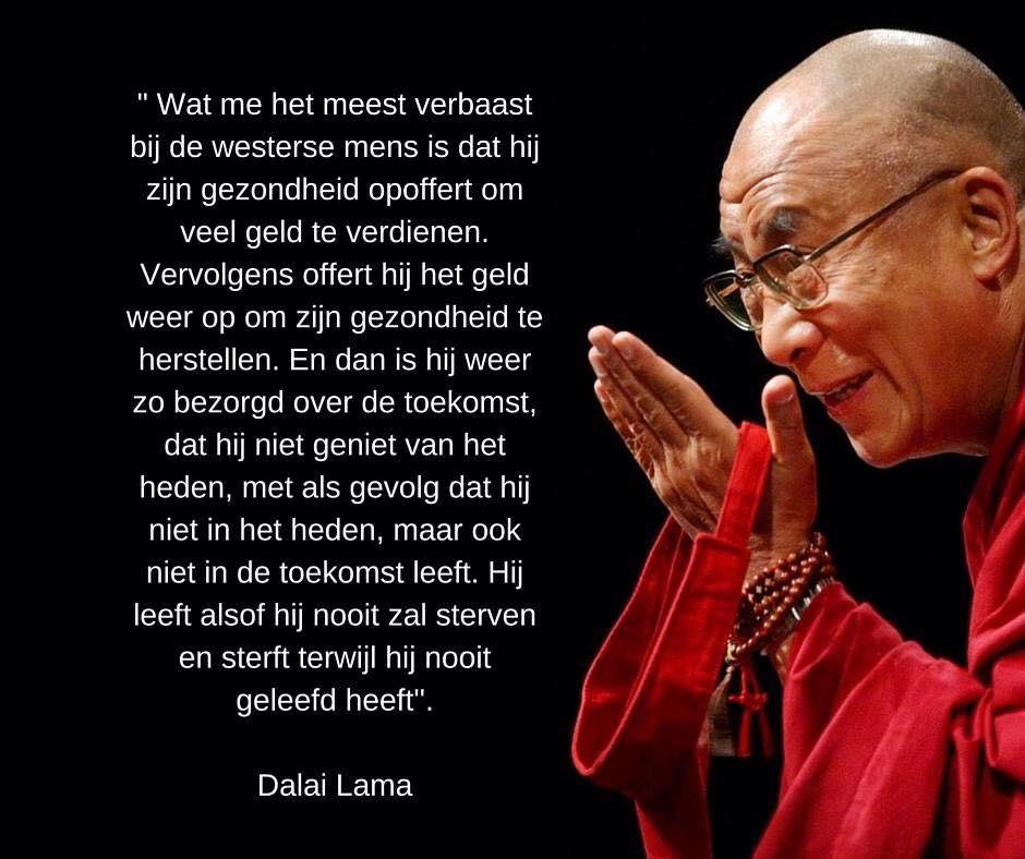 spreuken van dalai lama Quote Dalai Lama over Gezondheid | Gezond Leven spreuken van dalai lama