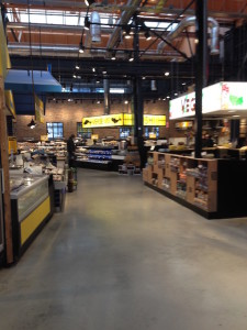 Ook vis op de foodmarket van de Jumbo.
