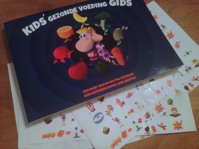 Kinderen groenten leren eten met dit mooie stickerboek.